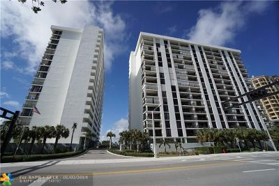 Fort Lauderdale Condo/Townhouse For Sale: 1901 N Ocean Blvd #9D