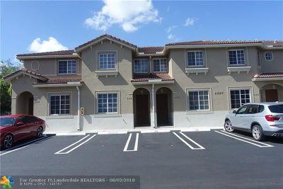Miami Gardens Condo/Townhouse Backup Contract-Call LA: 21207 NW 14th Pl #328