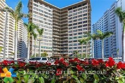 Fort Lauderdale Condo/Townhouse For Sale: 3800 Galt Ocean Dr #1112