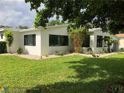 Wilton Manors Single Family Home For Sale: 424 NE 24th St