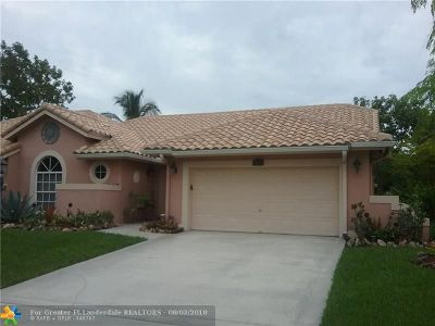 Coral Springs Rental For Rent: 4299 NW 81st Ter