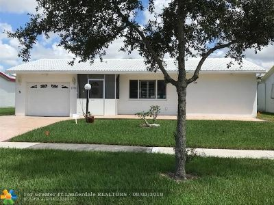 Plantation Single Family Home For Sale: 1190 Campanelli Dr