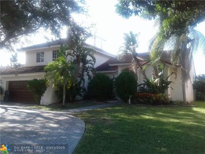 Coral Springs Single Family Home For Sale: 9943 NW 47th St