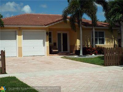 Pompano Beach Single Family Home For Sale: 517 NE 11th Ave