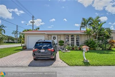 Deerfield Beach Single Family Home For Sale: 4920 NW 14th Ter
