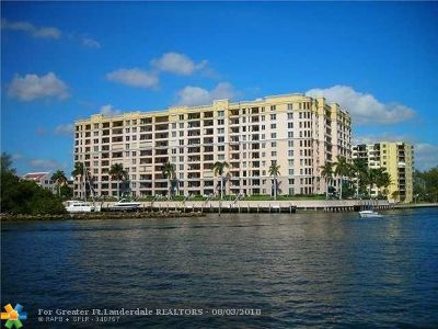 Pompano Beach Condo/Townhouse For Sale: 2880 NE 14th Street Cswy #608