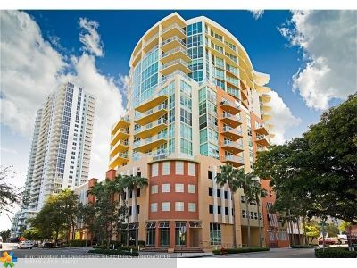 Fort Lauderdale Condo/Townhouse For Sale: 111 SE 8th Ave #902