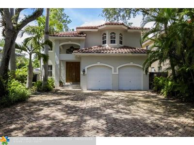 Coconut Grove Single Family Home For Sale: 3643 Royal Palm Ave