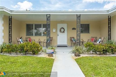 Oakland Park Single Family Home For Sale: 650 NW 34th St