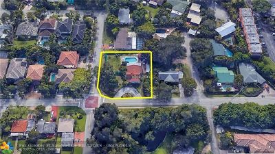 Wilton Manors Single Family Home For Sale: 96 NE 21st Ct