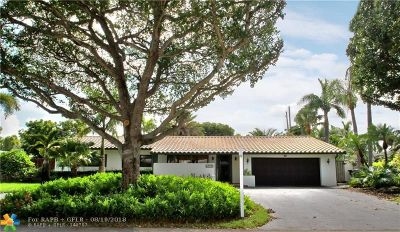 Fort Lauderdale Single Family Home For Sale: 2441 NE 27th Ave