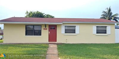 North Lauderdale Single Family Home For Sale: 7211 Forest Blvd