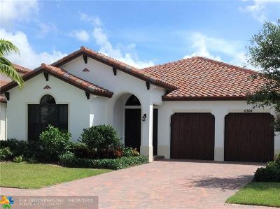 Lake Worth Single Family Home For Sale: 6304 Vireo Ct