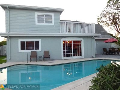 Pompano Beach Single Family Home For Sale: 1690 NE 25th Ave