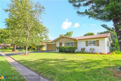 Coral Springs Single Family Home For Sale: 11430 NW 37th St
