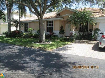 Pompano Beach Single Family Home Backup Contract-Call LA: 3515 Sahara Springs Blvd