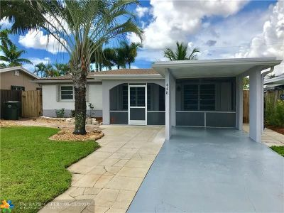 Oakland Park Single Family Home For Sale: 448 NW 47th Ct