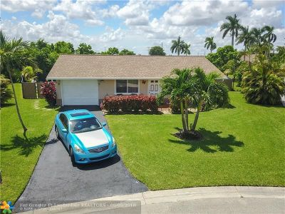 Tamarac Single Family Home For Sale: 8209 NW 93rd Terrace