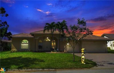 Coral Springs Single Family Home For Sale: 10771 NW 21st Pl