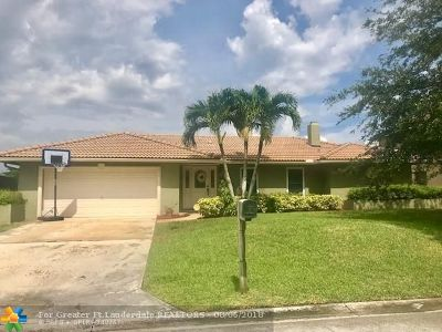 Coral Springs Single Family Home For Sale: 1887 NW 107th Dr