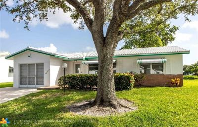Plantation Single Family Home For Sale: 8831 NW 14th St