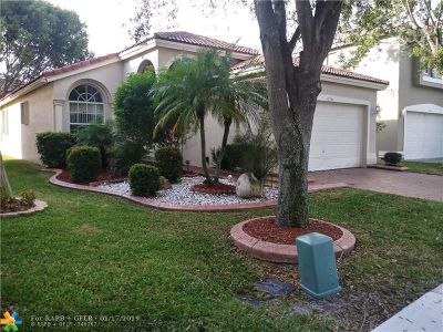 Coral Springs Single Family Home For Sale: 12346 NW 54th Ct