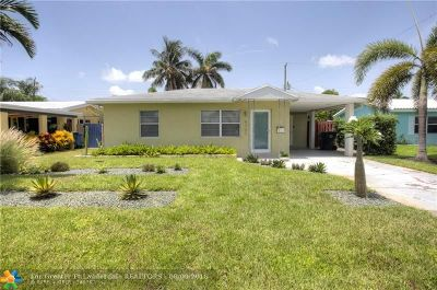 Fort Lauderdale Single Family Home For Sale: 4721 NE 5th Ter