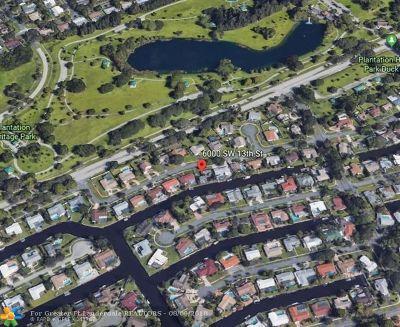 Plantation Single Family Home Backup Contract-Call LA: 6000 SW 13th St