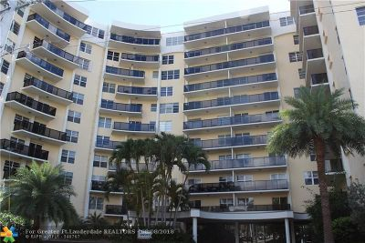 Fort Lauderdale Condo/Townhouse For Sale: 5100 Dupont Blvd #6G