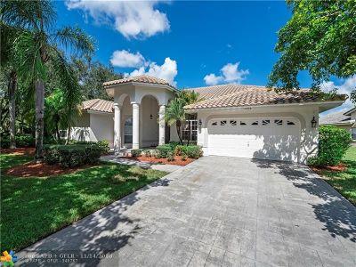 Coral Springs Single Family Home For Sale: 4958 Kensington Cir