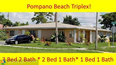 Pompano Beach Multi Family Home For Sale: 413 SW 15th St