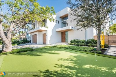 Fort Lauderdale Single Family Home For Sale: 2312 Barcelona Dr