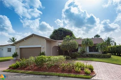 Tamarac Single Family Home For Sale: 5504 Water Oak Pl