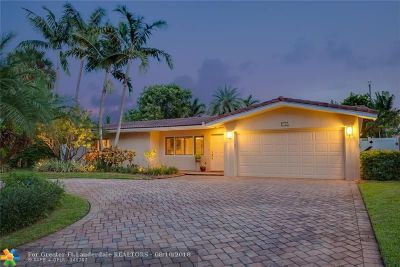 Fort Lauderdale Single Family Home For Sale: 2120 NE 54th Ct