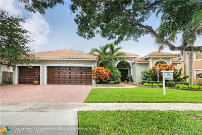 Pembroke Pines Single Family Home For Sale: 13741 NW 23rd St