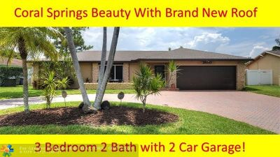 Coral Springs Single Family Home For Sale: 2650 NW 98th Way