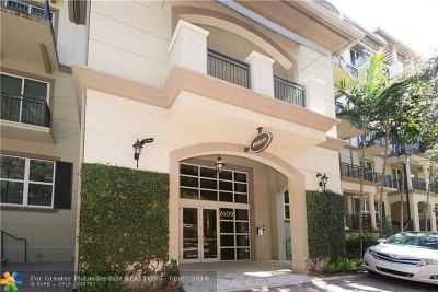 Wilton Manors Condo/Townhouse For Sale: 2609 NE 14th Ave #505