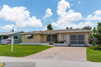 Tamarac Single Family Home For Sale: 4708 NW 47th Ter