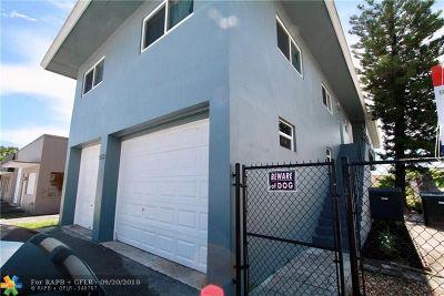 Oakland Park Multi Family Home For Sale: 530 NE 34th Ct