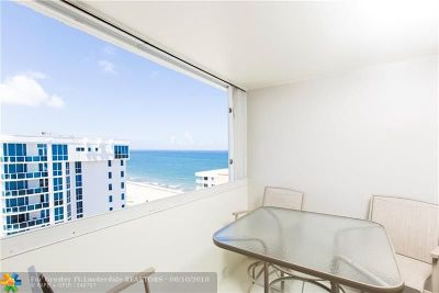 Pompano Beach Condo/Townhouse For Sale: 1000 S Ocean Blvd #PHJ