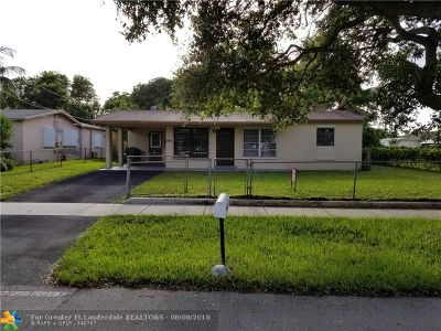 Lauderhill Single Family Home Backup Contract-Call LA: 1680 NW 33rd Ave