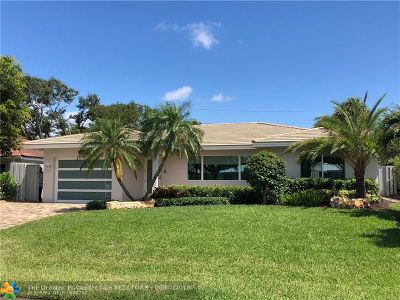 Lauderdale By The Sea Single Family Home For Sale: 255 S Tradewinds Ave