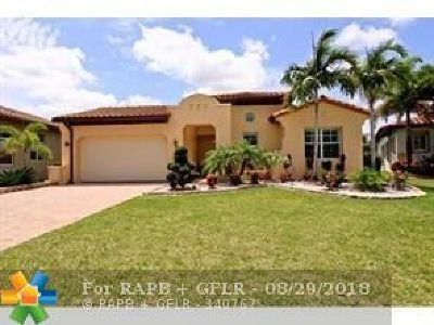 Parkland Single Family Home For Sale: 8105 NW 111th Ter