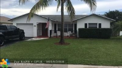 Tamarac Single Family Home Backup Contract-Call LA: 9503 NW 81st Ct