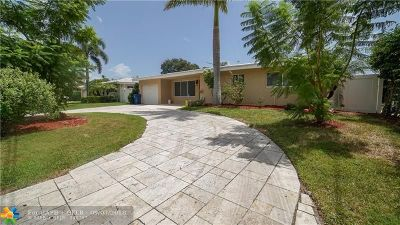 Wilton Manors Single Family Home For Sale: 2118 NE 16th Ave