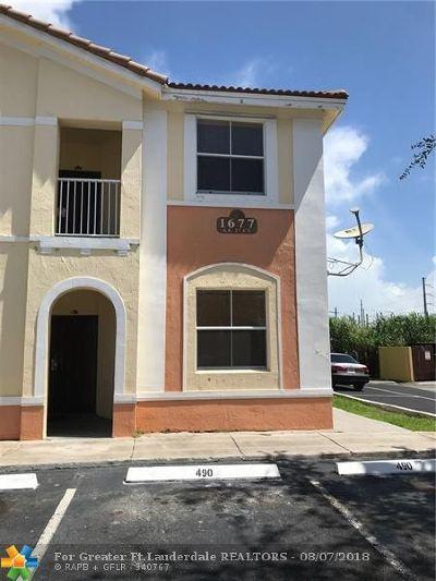 Homestead Condo/Townhouse For Sale: 1677 SE 27th Ct #209