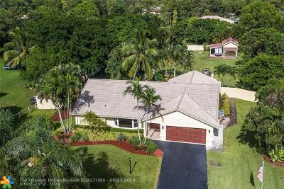 Parkland Single Family Home For Sale: 5960 NW 75th Way