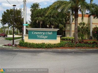 Weston Condo/Townhouse For Sale: 16300 Golf Club Rd #202