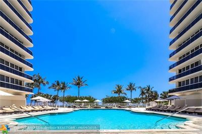 Surfside Condo/Townhouse Backup Contract-Call LA: 9595 Collins Ave #N7-H
