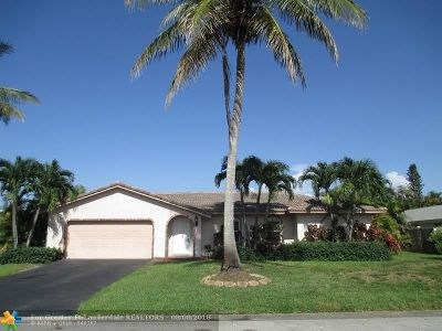 Coral Springs Single Family Home For Sale: 3195 NW 114th Ln
